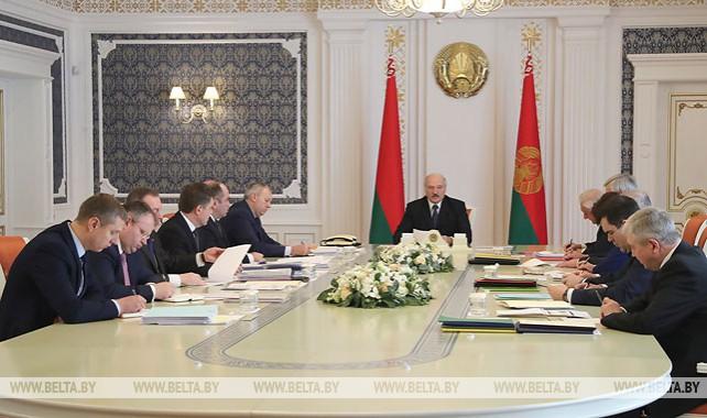 Лукашенко провел совещание по интеграционному сотрудничеству