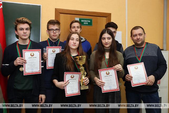 Команда Могилевской области выиграла Олимпийские дни молодежи по шахматам