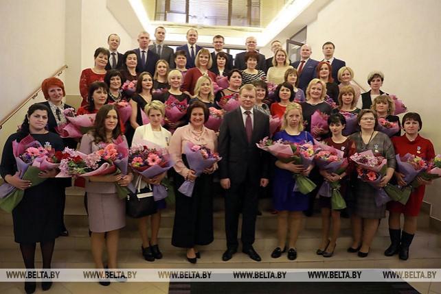 В Могилевском облисполкоме прошел торжественный прием к Дню женщин