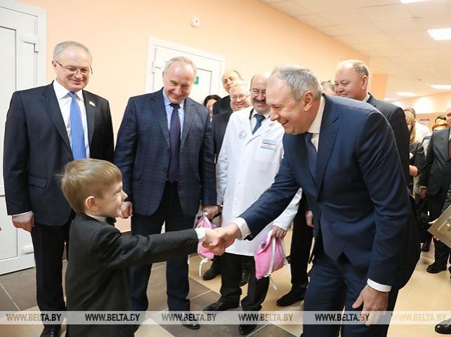 Новая многопрофильная поликлиника открылась в Витебске