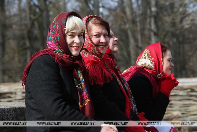 В Беловежской пуще отметили Масленицу