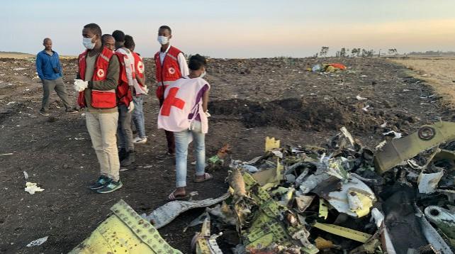Обнаружен черный ящик разбившегося в Эфиопии Boeing