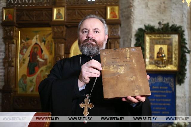 В Гродно спустя век вернули исторический список чудотворной Коложской иконы Божией Матери