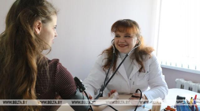 Новая районная поликлиника открылась в Верхнедвинске