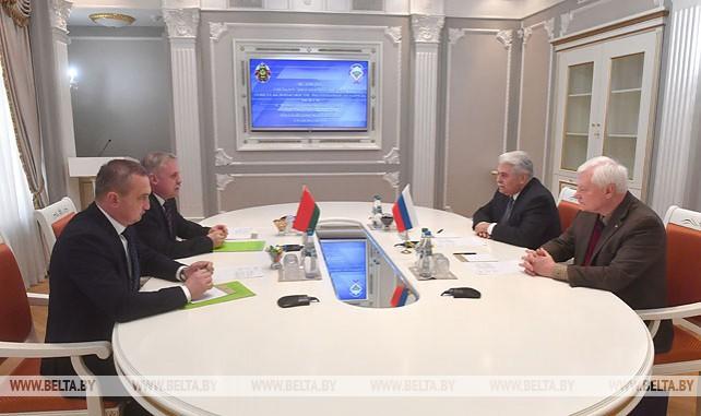 Зась встретился с заместителем секретаря Совбеза России