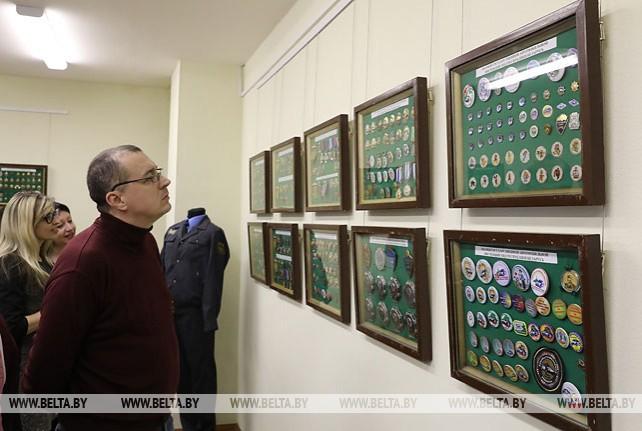 Коллекцию наградных знаков МВД Беларуси представили на выставке в Витебске