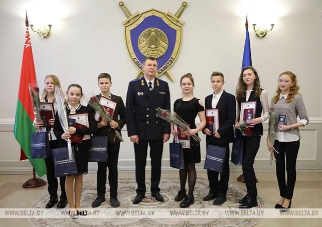 В Следственном комитете состоялась церемония вручения паспортов