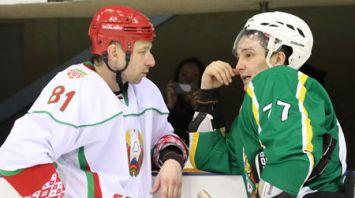Хоккейная команда Президента Беларуси заняла первое место в любительском турнире и вышла в плей-офф