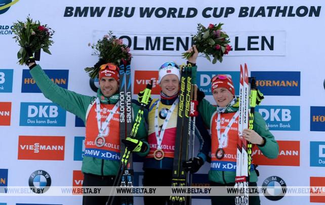 Йоханнес Бё выиграл масс-старт на этапе КМ в Холменколлене