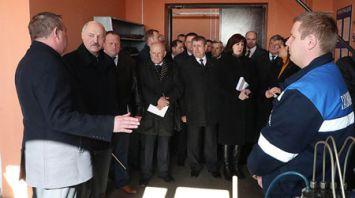 Александр Лукашенко совершает рабочую поездку в Могилевскую область