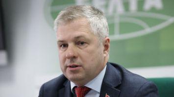 Брифинг Андрея Рыбака прошел в БЕЛТА