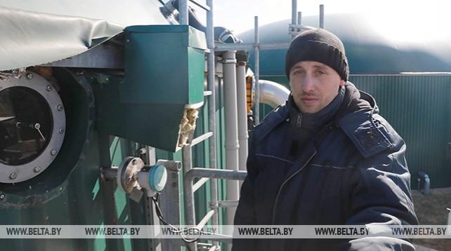 В Кировском районе работает биогазовая установка на 4,8 мВт
