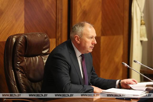 Заседание Президиума Совета Министров прошло 26 марта