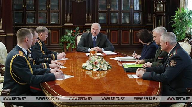 Лукашенко произвел кадровые перестановки в системе МВД