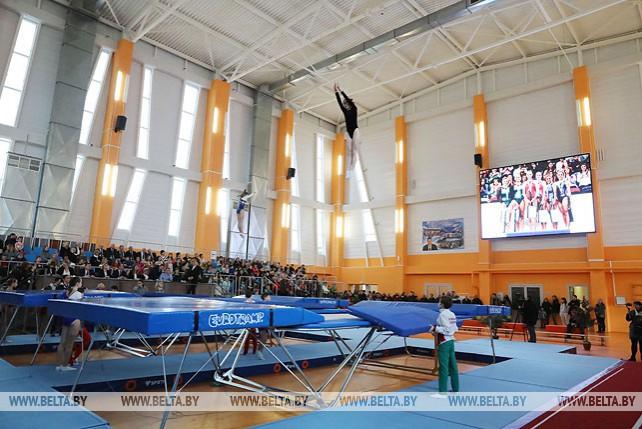Центр по прыжкам на батуте открыли в Витебске