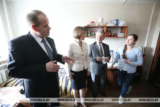 Общежитие Белорусской государственной академии музыки открылось после капитального ремонта
