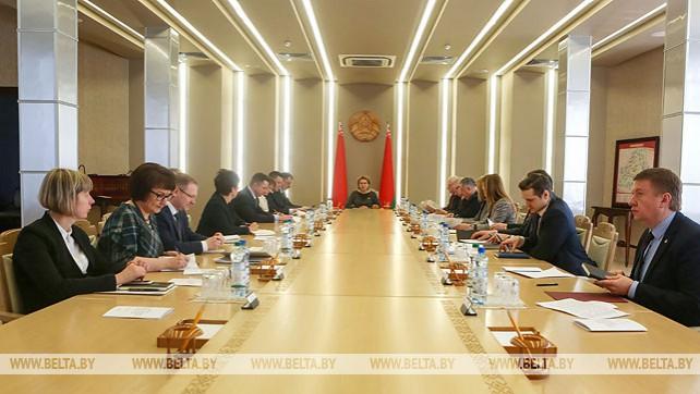В Совете Республики прошло заседании организационного комитета по подготовке и проведению VI Форума регионов Беларуси и России