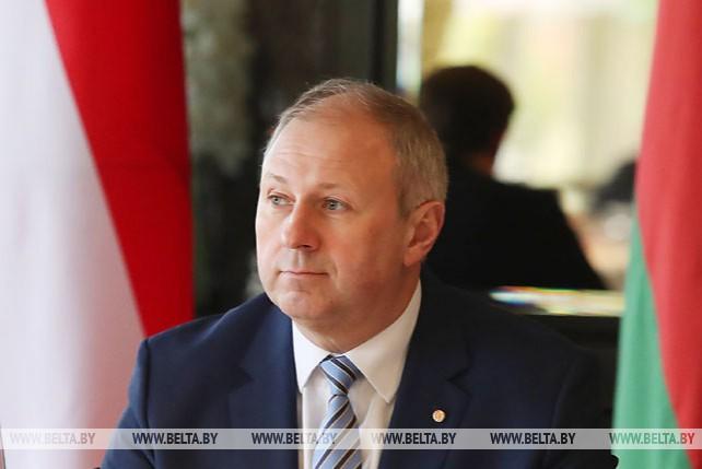Румас встретился с федеральным канцлером Австрии Себастьяном Курцем