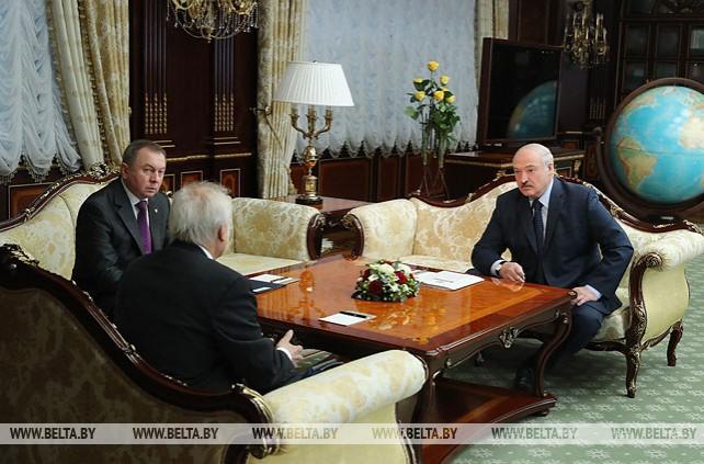 Александр Лукашенко встретился с Мартином Сайдиком