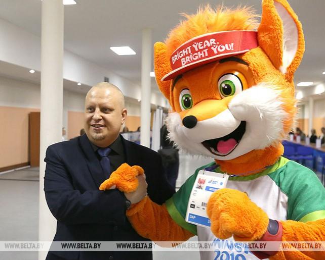 Экипировочный и аккредитационный центр II Европейских игр открылся в Минске