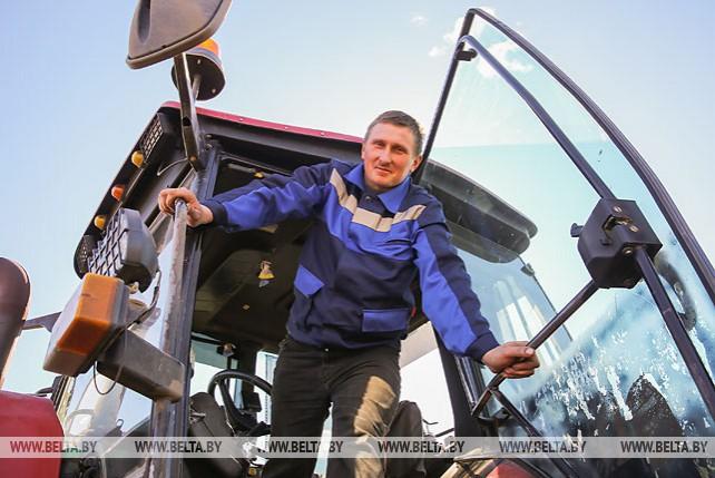 В Брестском районе ведутся посевные работы