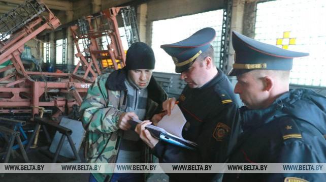 Проверка сельскохозяйственных предприятий ведется в Могилевском районе