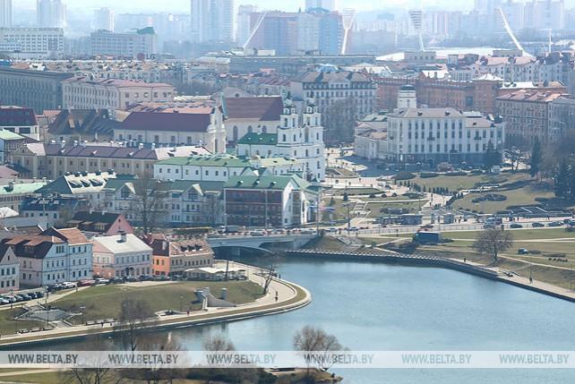 Солнечный день в Минске