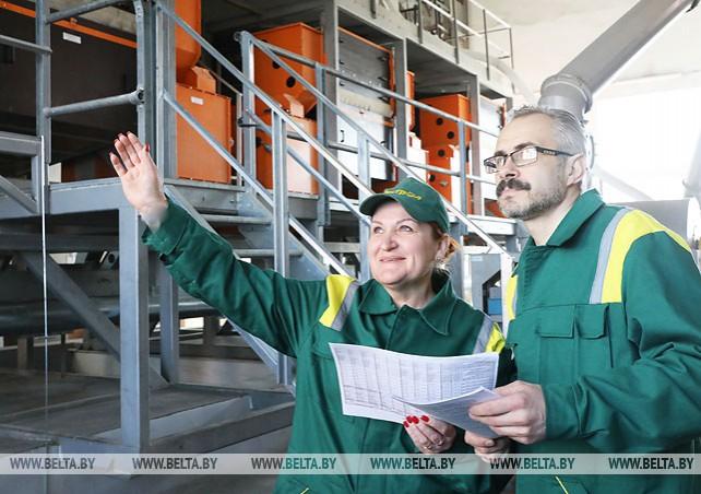 Новая линия установлена на Витебском маслоэкстракционном заводе