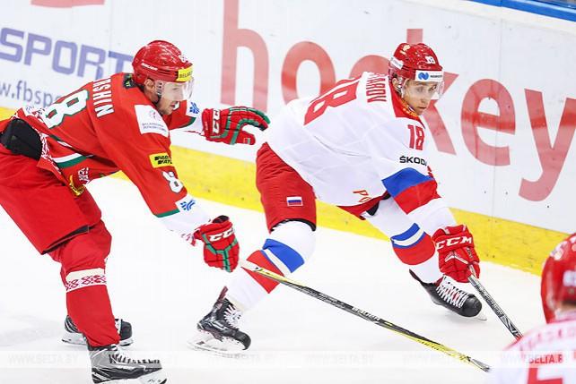 Белорусские хоккеисты проиграли россиянам в двух товарищеских матчах