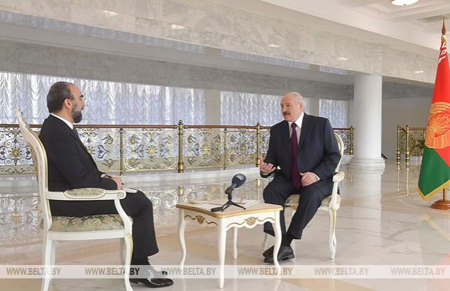 "Лукашенко дал интервью турецкому информагентству ""Анадолу"""
