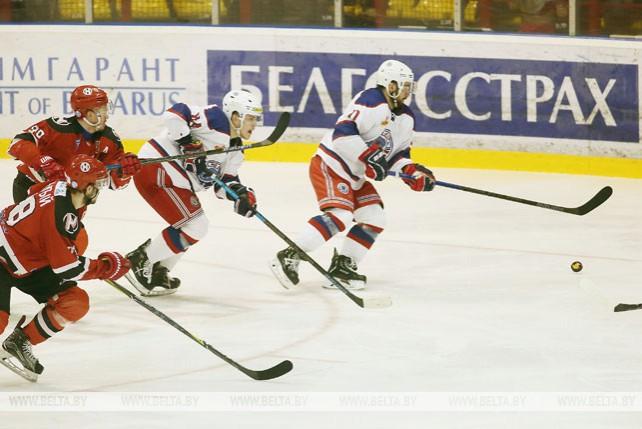 """Хоккеисты """"Юности"""" победили в гостях """"Неман"""" и упрочили лидерство в финале плей-офф"""
