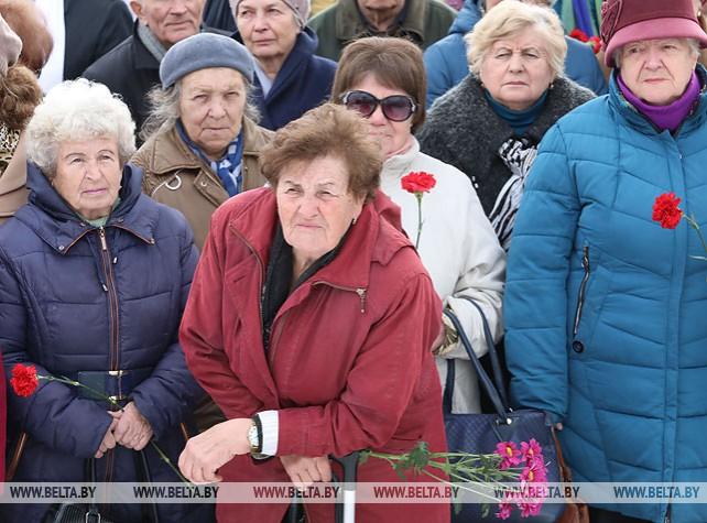 Митинг-реквием памяти узников фашистских концлагерей прошел в Витебске