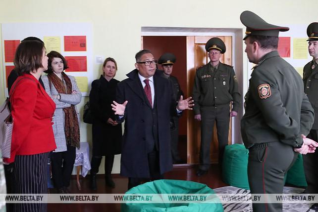 Три проекта за счет иностранных средств планируется реализовать в детской колонии в Бобруйске