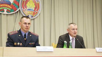 Шуневич представил нового начальника УВД Витебского облисполкома