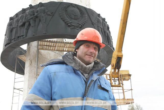 """Благоустройстве памятного знака """"Монумент Дружбы"""""""