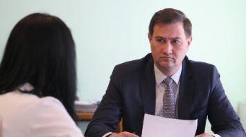 Рыженков провел прием граждан в Глуске