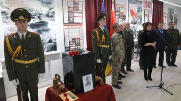 Останки погибшего под Могилевом красноармейца передали в Украину