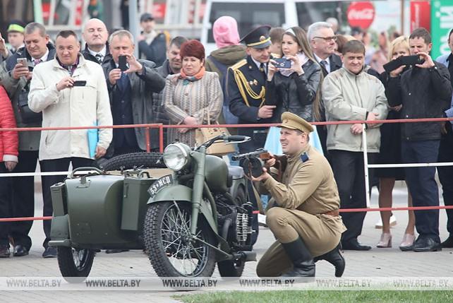 В Гомеле празднуют 100-летие со дня образования УВД Гомельского облисполкома