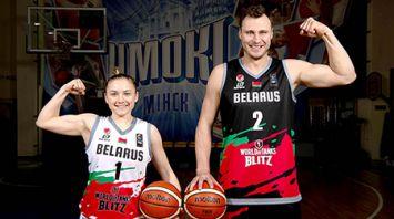 Белорусские баскетболисты будут выступать в форме, брендированной элементами World of Tanks Blitz