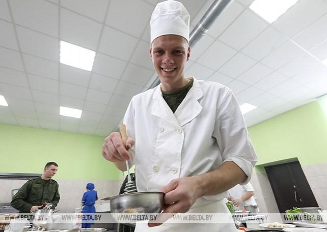 Лучших военных поваров выбирают для участия в Армейских международных играх