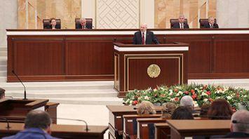 Президент Беларуси обращается с ежегодным Посланием к белорусскому народу и Национальному собранию