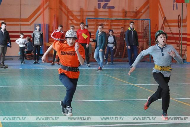 Соревнования по пожарно-спасательному спорту проходят в Могилеве