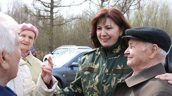 Кочанова: участие в субботнике важно для каждого белоруса