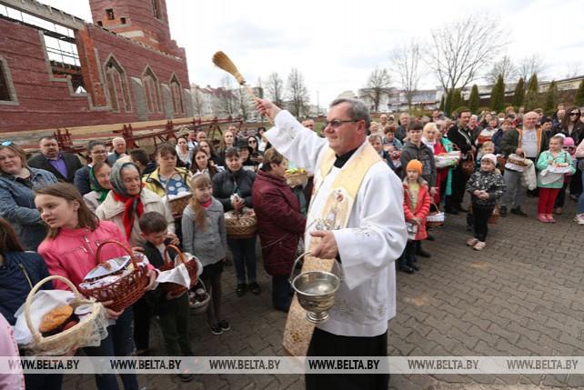 Католики отпраздновали Пасху