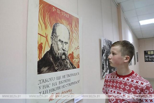 Документы о подвигах украинцев в годы войны представлены на выставке в Витебске