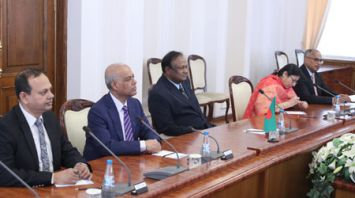 Турчин встретился с министром коммерции Бангладеш