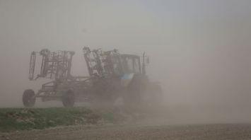 Песчаная буря в Свислочском районе