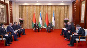 Лукашенко: Беларусь заинтересована делиться технологиями с Узбекистаном