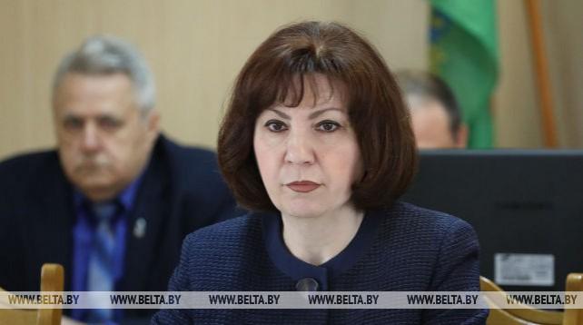 Кочанова приняла участие в заседании Полоцкого райисполкома