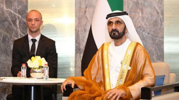 Лукашенко встретился в Пекине с вице-президентом ОАЭ